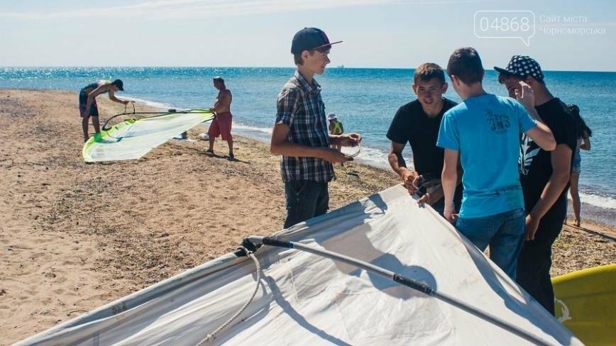 В Черноморске открыли летний сезон соревнованиями по виндсерфингу (фото), фото-5