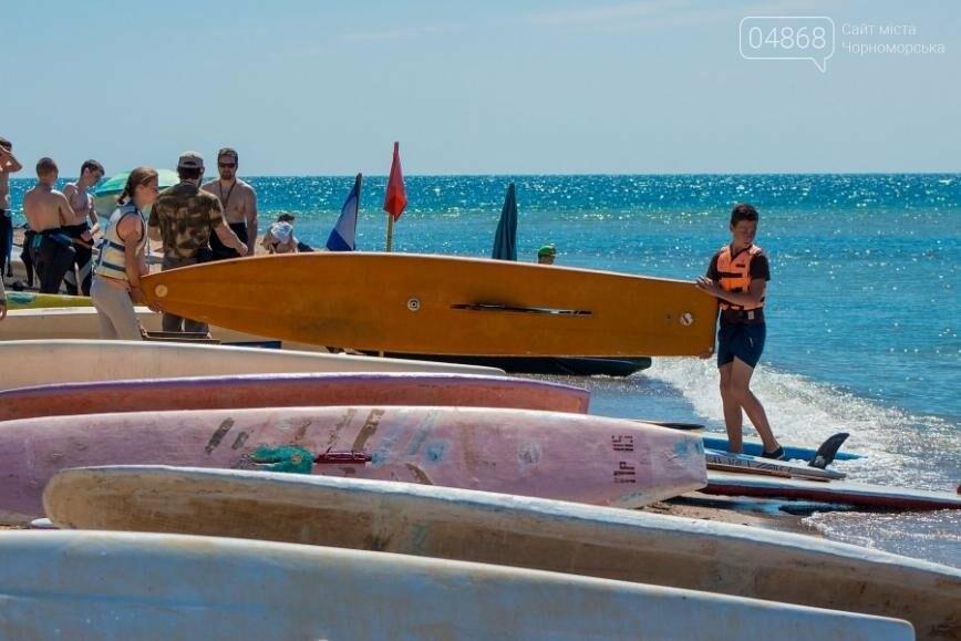 В Черноморске открыли летний сезон соревнованиями по виндсерфингу (фото), фото-7