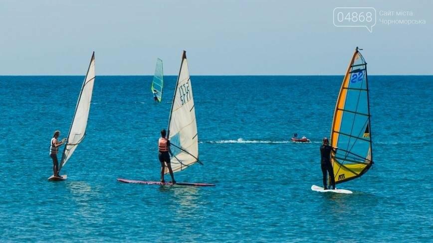 В Черноморске открыли летний сезон соревнованиями по виндсерфингу (фото), фото-9
