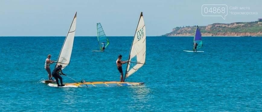 В Черноморске открыли летний сезон соревнованиями по виндсерфингу (фото), фото-4