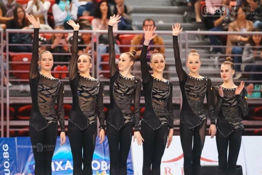 Гимнастка из Черноморска помогла сборной Украины завоевать 4 медали на Чемпионате мира (фото), фото-4