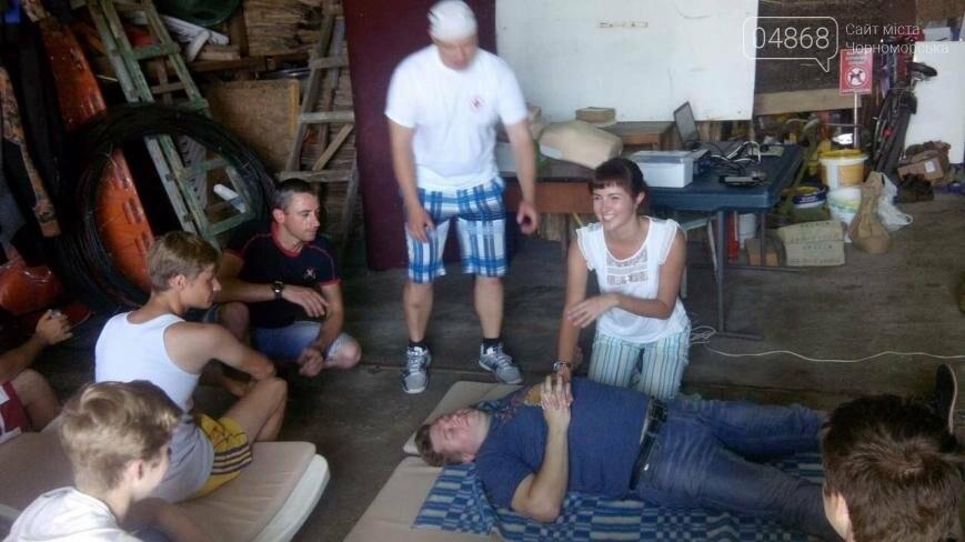 В Черноморске провели курсы первой помощи для матросов-спасателей (фото), фото-3