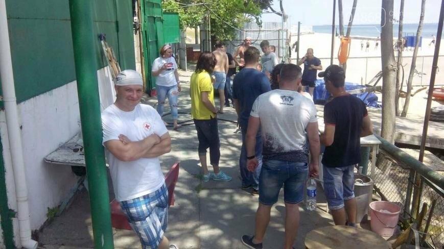 В Черноморске провели курсы первой помощи для матросов-спасателей (фото), фото-4