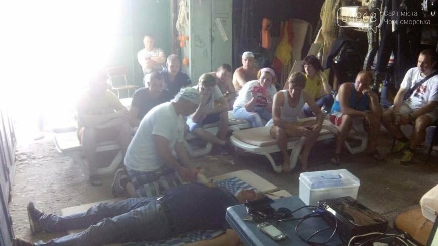 В Черноморске провели курсы первой помощи для матросов-спасателей (фото), фото-5