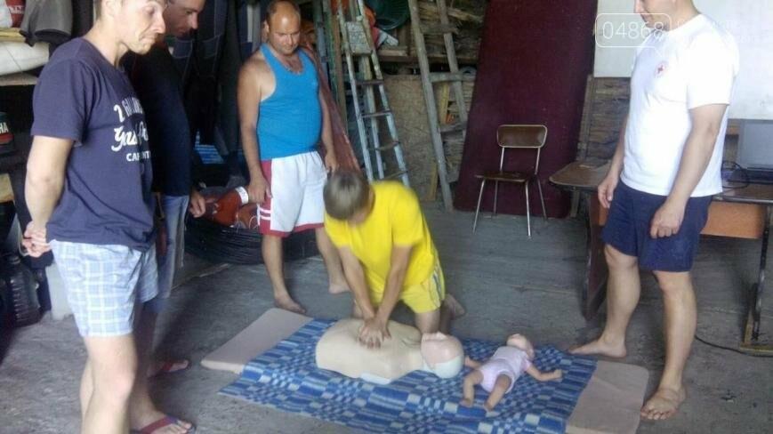 В Черноморске провели курсы первой помощи для матросов-спасателей (фото), фото-6