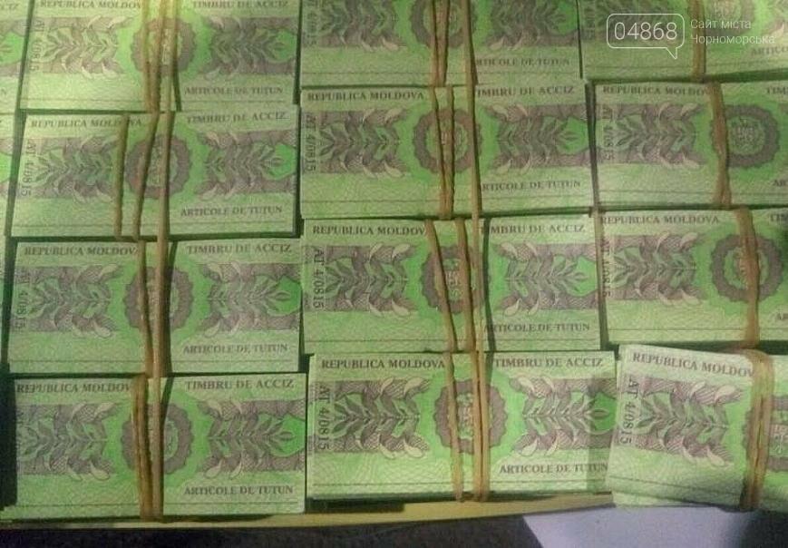 В Черноморске обнаружили почти 1000000 акцизных марок Молдовы (фото), фото-3
