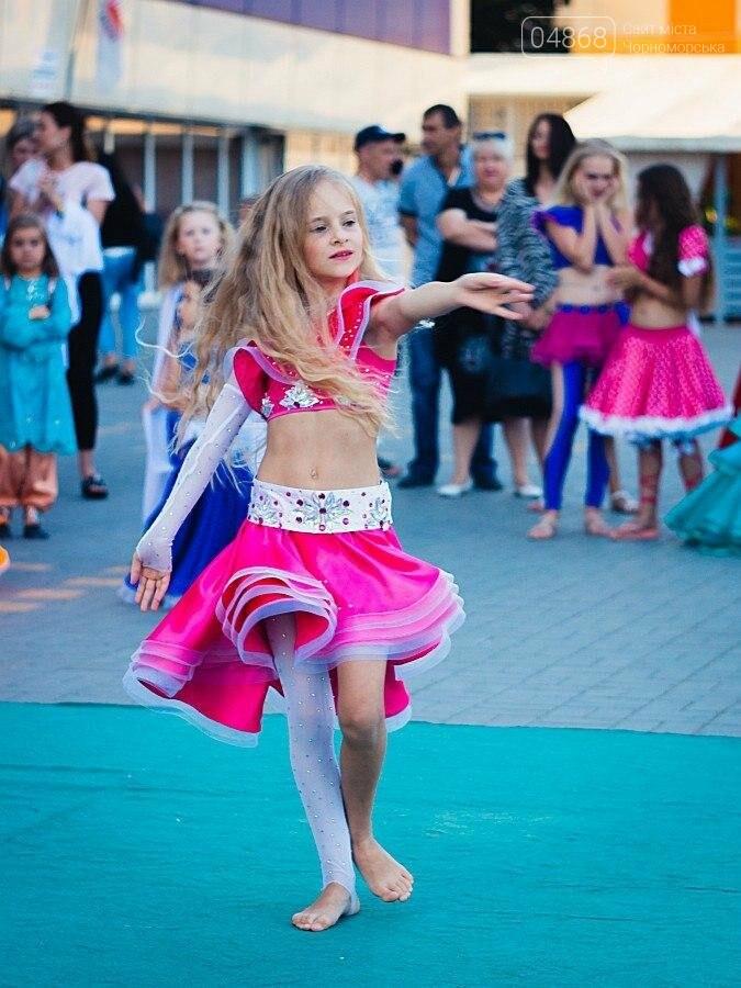 Под открытым небом у дворца спорта «Юность» выступил танцевальный клуб «Ultra-Dance», фото-6