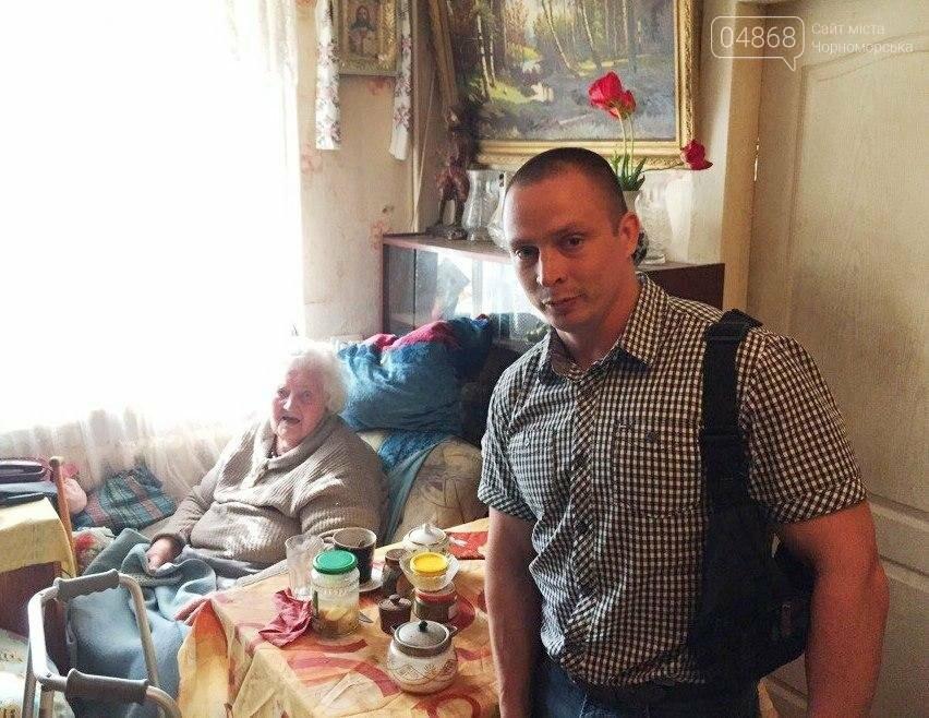Всем миром: неравнодушные общественники Черноморска помогают незащищённым жителям города (фото), фото-3