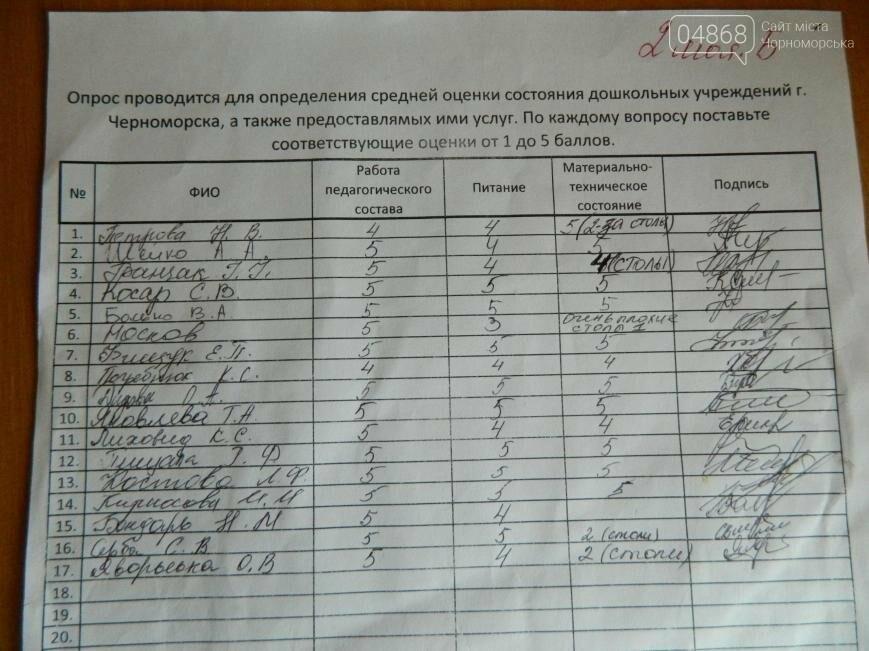 Детские сады Черноморска: мнение 916 родителей (фото), фото-5