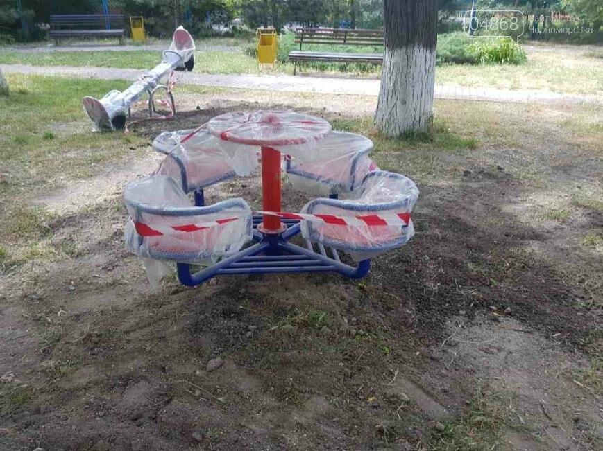 Новая детская площадка появилась в одном из дворов по ул. Парковой, фото-2