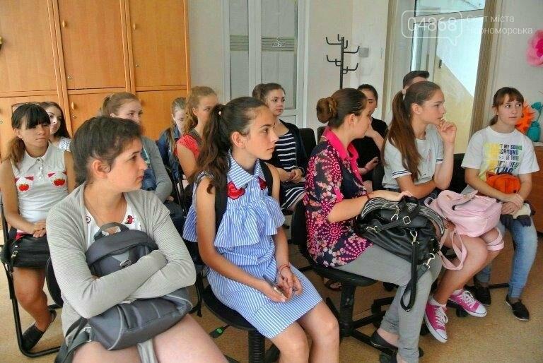 Юные лидеры Черноморска посмотрели вблизи на работу «четвёртой власти» (фото), фото-2