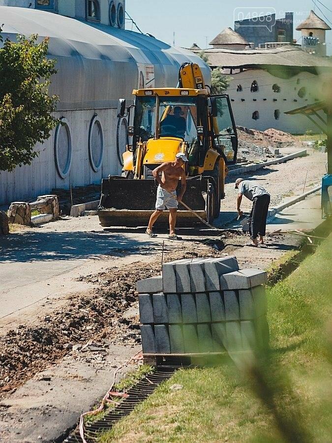 В Черноморске продолжаются работы по реконструкции улицы Пляжная (фото), фото-6