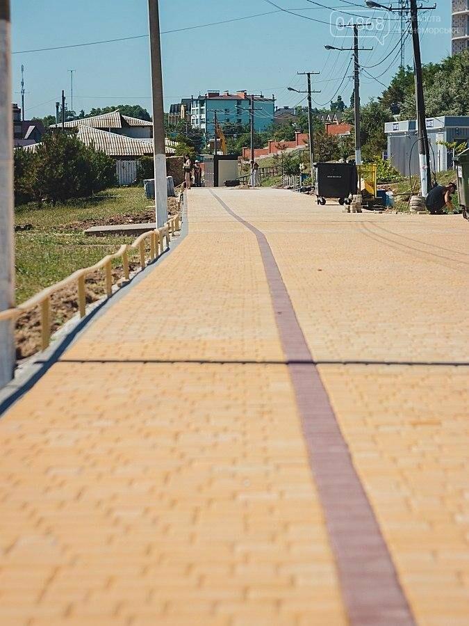 В Черноморске продолжаются работы по реконструкции улицы Пляжная (фото), фото-9