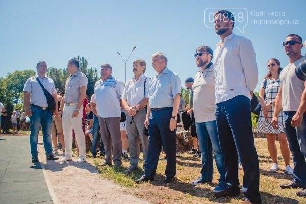 В Черноморске состоялось праздничное открытие площадки для занятий WorkOut (фото), фото-3