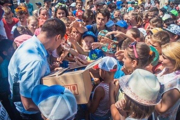 В Черноморске состоялось праздничное открытие площадки для занятий WorkOut (фото), фото-10