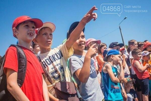 В Черноморске состоялось праздничное открытие площадки для занятий WorkOut (фото), фото-6