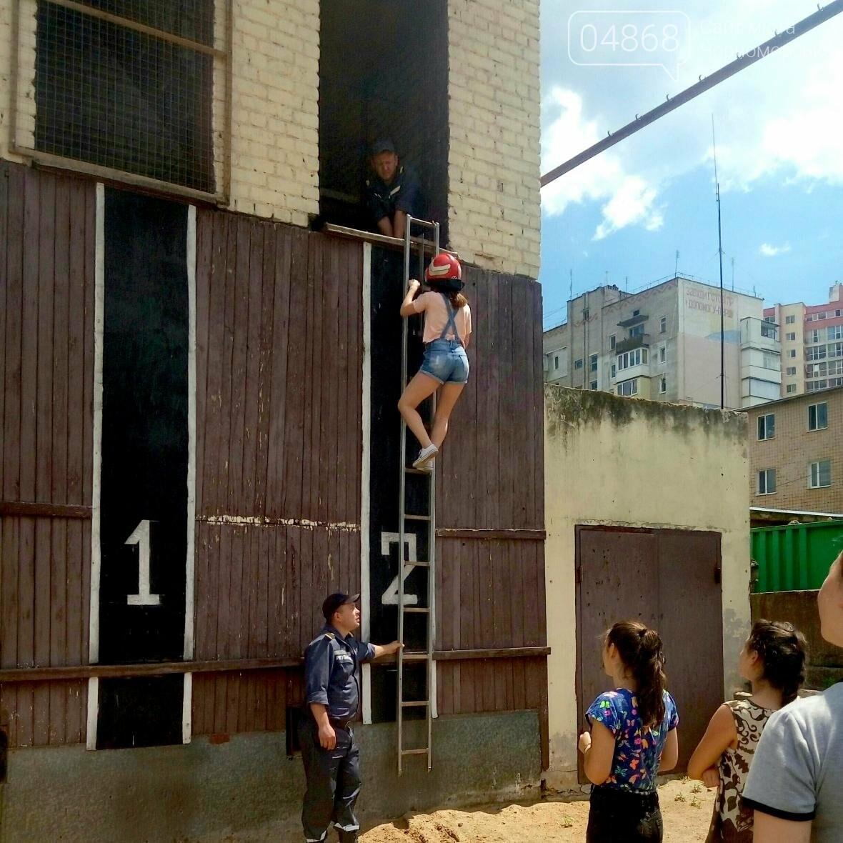 Лагерь лидеров побывал в гостях у Черноморских спасателей (фото), фото-1