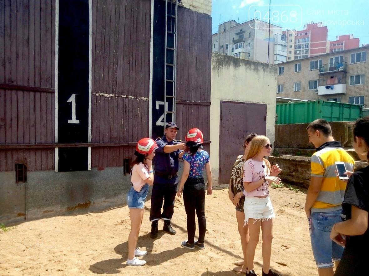 Лагерь лидеров побывал в гостях у Черноморских спасателей (фото), фото-6