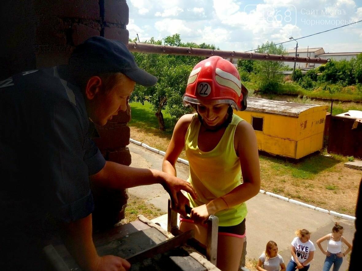 Лагерь лидеров побывал в гостях у Черноморских спасателей (фото), фото-5