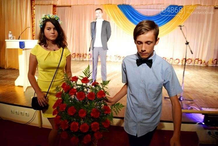В Черноморске торжественно отметили День Конституции Украины (фото), фото-4