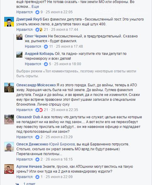 Народный депутат намерен присвоить 15 гектаров земли под Черноморском, фото-3
