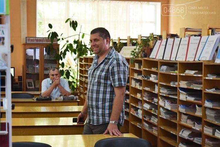 «Любимый город – как центр Вселенной»: в Черноморске презентовали новую книгу стихов Таисии Сапрыкиной, фото-5