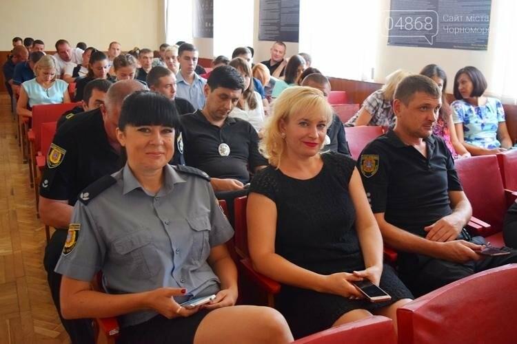 В День Национальной полиции в Черноморске наградили сотрудников подразделения (фото), фото-2