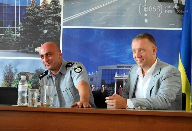 В День Национальной полиции в Черноморске наградили сотрудников подразделения (фото), фото-3