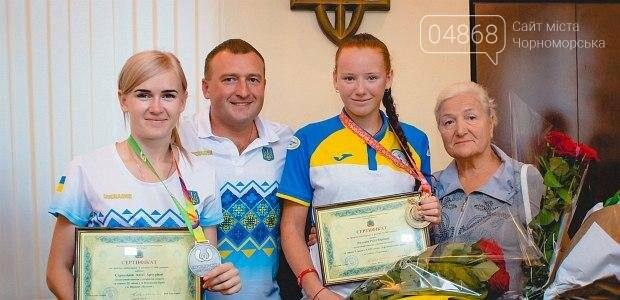 Черноморские власти поздравили спортсменок с весомыми достижениями (фото), фото-5