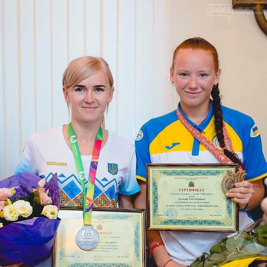 Черноморские власти поздравили спортсменок с весомыми достижениями (фото), фото-7