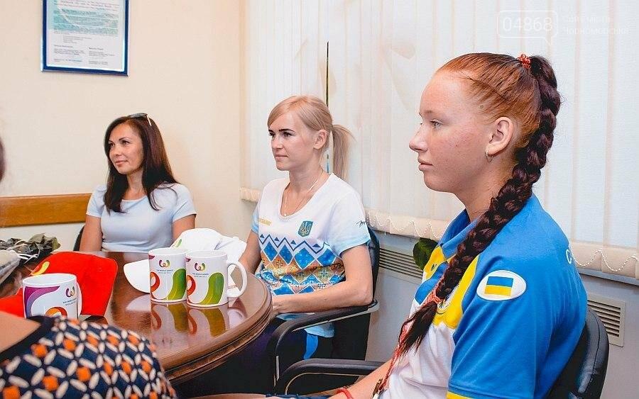 Черноморские власти поздравили спортсменок с весомыми достижениями (фото), фото-11