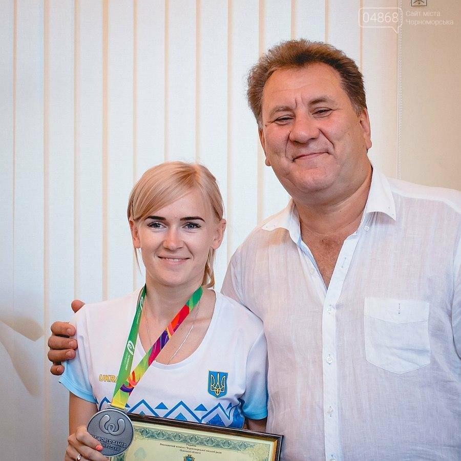 Черноморские власти поздравили спортсменок с весомыми достижениями (фото), фото-9
