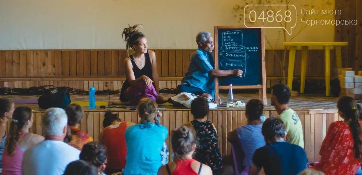 Более 400 участников собрал Йога Фестиваль в Черноморске (фото), фото-1