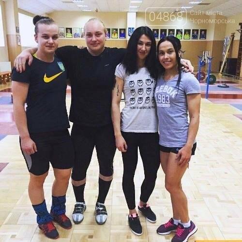 Черноморская спортсменка Анастасия Лысенко взяла «золото» на Чемпионате Украины по тяжёлой атлетике, фото-6