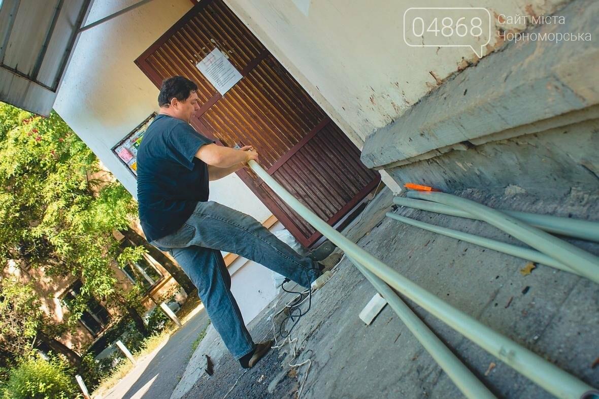 Специалисты КП «ГУЖКХ» производят реконструкцию системы отопления (фото), фото-7