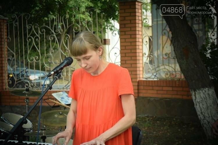На два часа сквер у Дворца культуры Черноморска превратился в «Музыкальный дворик», фото-8