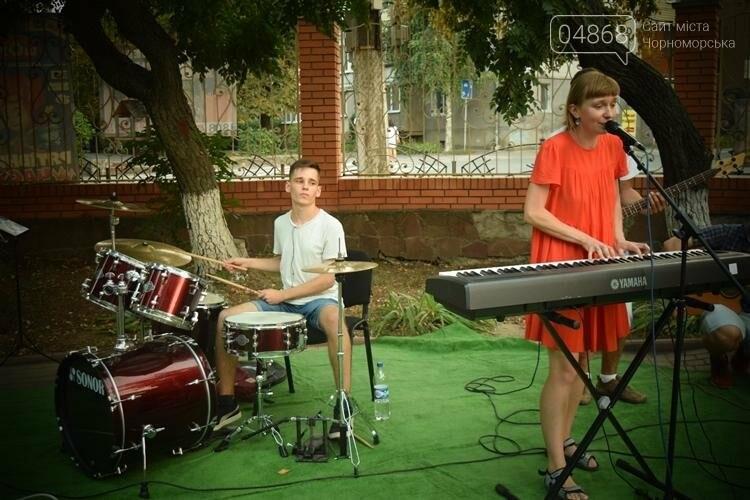 На два часа сквер у Дворца культуры Черноморска превратился в «Музыкальный дворик», фото-11