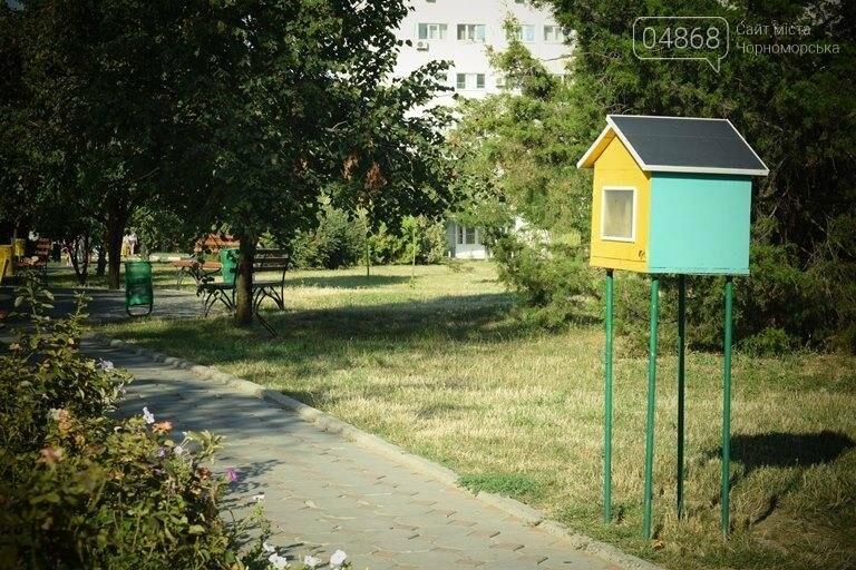 Уличные мини-библиотечки Черноморска: минус одна, фото-1