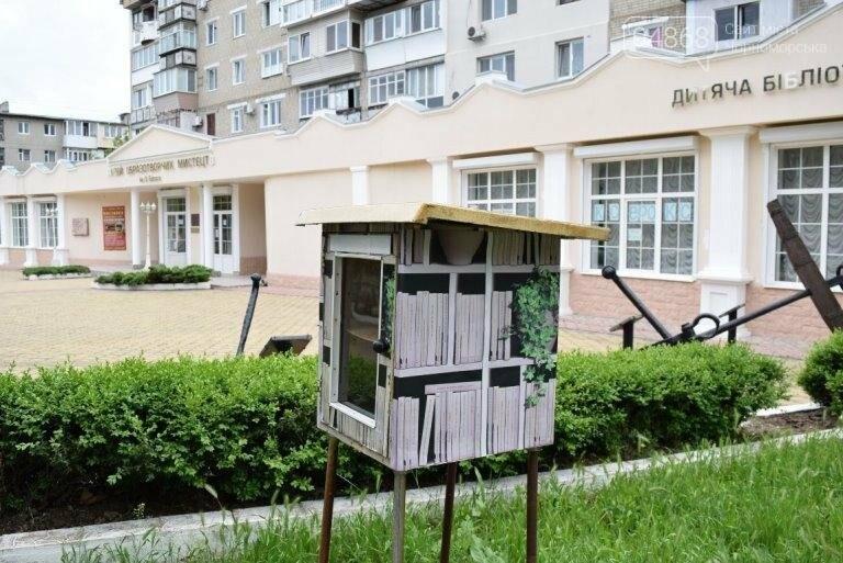 Уличные мини-библиотечки Черноморска: минус одна, фото-5