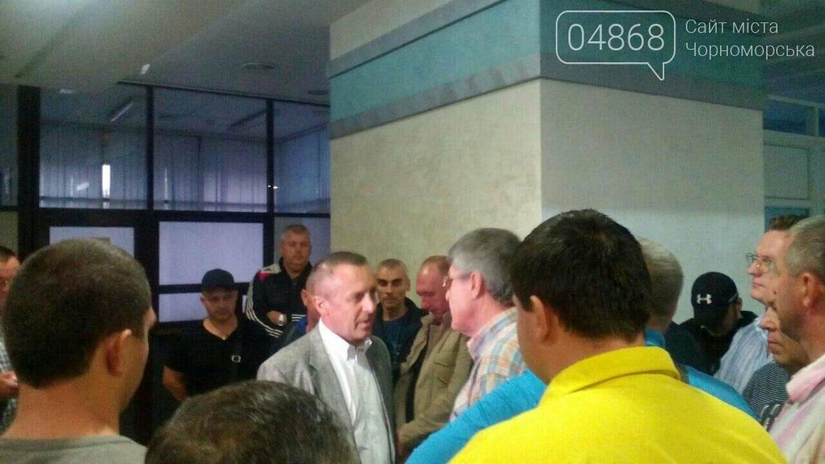 Рейдерство в Черноморском порту: уволенный директор пытается вернуться в кресло (фото), фото-1
