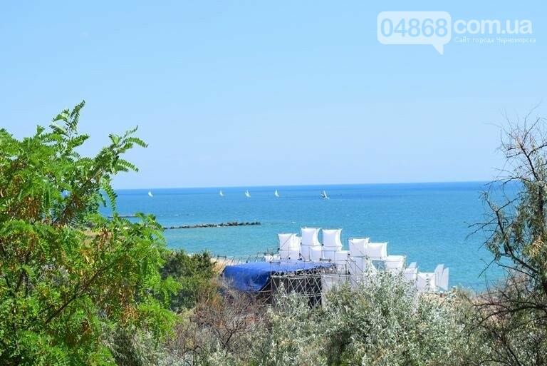 У побережья Черноморска прошла парусная регата Black Sea Cup , фото-2