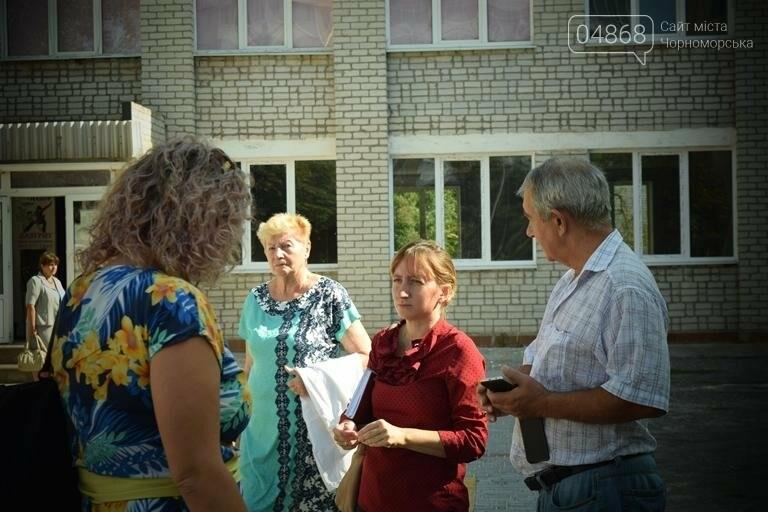 Территория 7 школы Черноморска преобразилась, фото-6