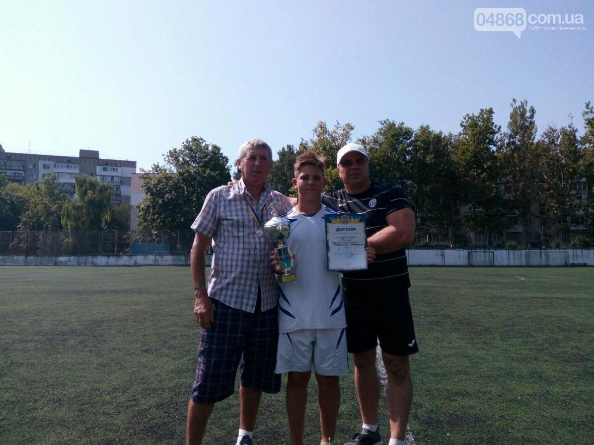 В Черноморске прошёл турнир по футболу среди подростков (фото), фото-2