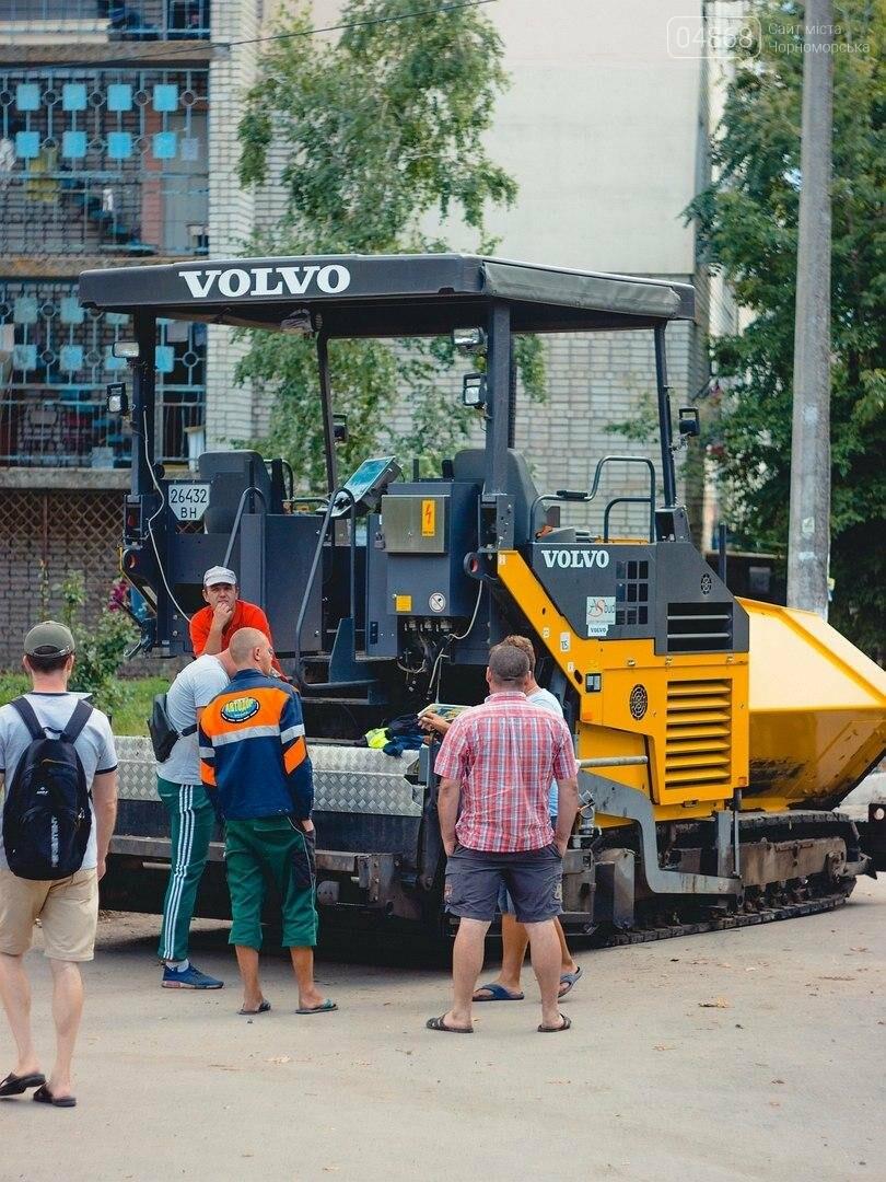 «Автодор» продолжает работы по ремонту внутриквартальных дорог Черноморска (фото), фото-3