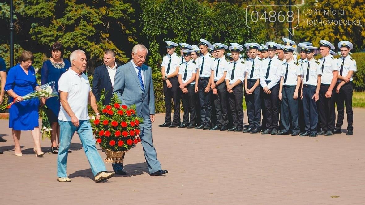 В Черноморске состоялась церемония возложения цветов (фото), фото-9