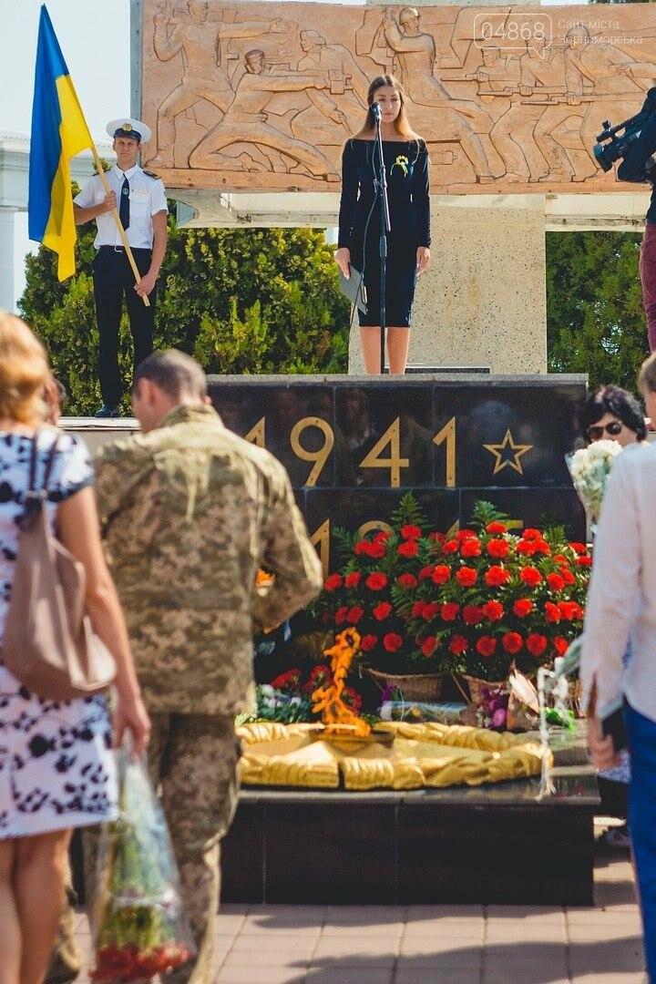 В Черноморске состоялась церемония возложения цветов (фото), фото-7