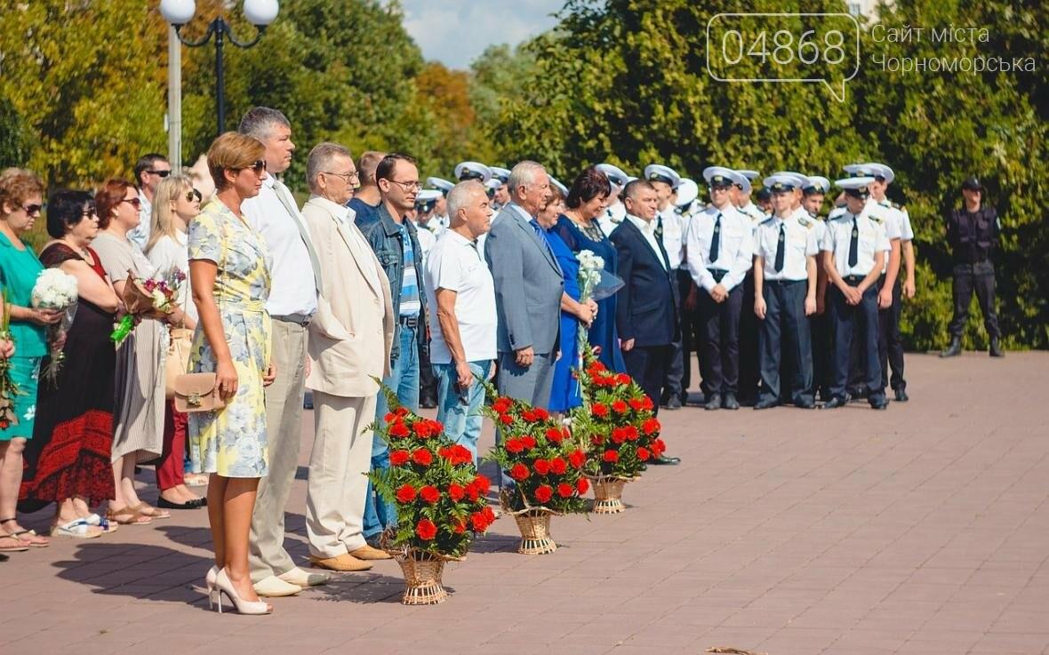 В Черноморске состоялась церемония возложения цветов (фото), фото-8