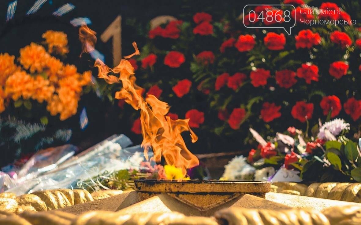 В Черноморске состоялась церемония возложения цветов (фото), фото-6