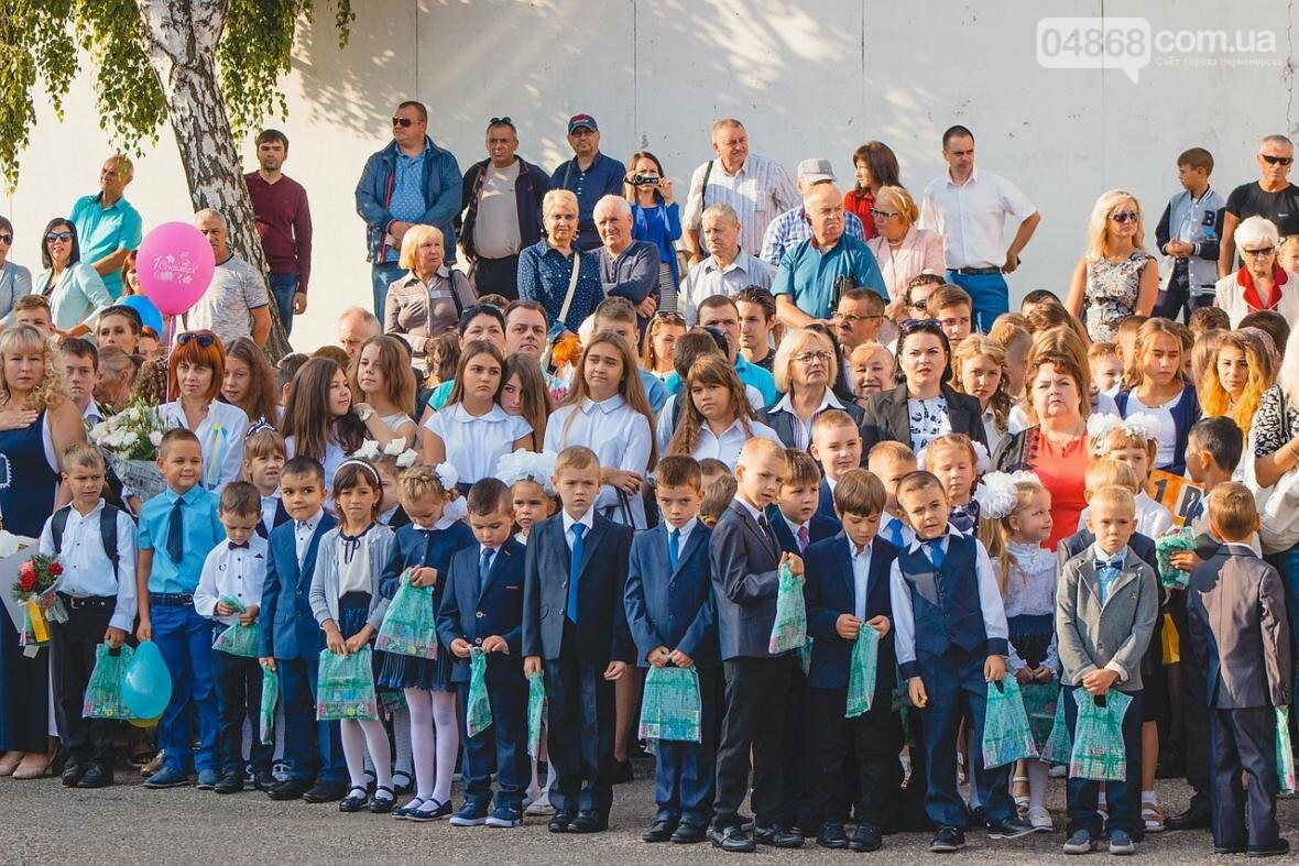 В школах Черноморска прозвенел первый звонок (фото), фото-8