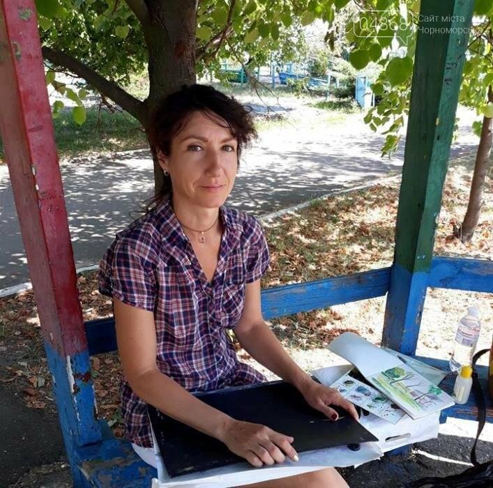 Черноморские художники провели пленэр «Морские мотивы», фото-9